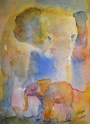 Corynne Hilbert - Elephant and Baby
