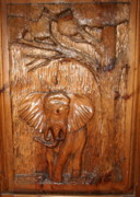 Carving Reliefs - Elephant Relief   Sold by John Nickerson