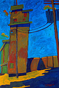 Intense Painting Originals - Elevator by Charlie Spear