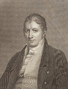 Cotton Gin Posters - Eli Whitney 1765-1825 Inventor Poster by Everett