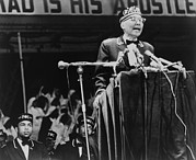 Speaking Photos - Elijah Muhammad, Leader Of The Black by Everett