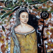 Devotional Paintings - Eliora by Rain Ririn