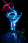 Lightening Art - Elixir of the Gods by Barbara  White