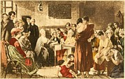 Punishment Prints - Elizabeth Fry 1780-1845 Was An English Print by Everett