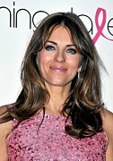 At A Public Appearance Prints - Elizabeth Hurley At A Public Appearance Print by Everett