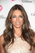 Tickled Pink Prints - Elizabeth Hurley At Arrivals Print by Everett