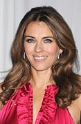 At In-store Appearance Prints - Elizabeth Hurley At In-store Appearance Print by Everett