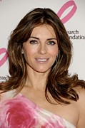 Award Prints - Elizabeth Hurley In Attendance Print by Everett