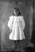 Portrait Photo Originals - Elizabeth in her Sunday Dress by Jan Faul