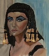 Elizabeth Taylor Paintings - Elizabeth Taylor by Wayne LE ONE