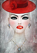 30-55 Years Old Metal Prints - Elizabeth Metal Print by Yosi Cupano