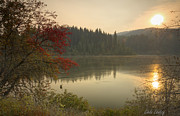 Elk River Posters - Elk Creek Reservoir Poster by Idaho Scenic Images Linda Lantzy