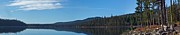 Mt. Bachelor Framed Prints - Elk Lake Oregon Panorama Framed Print by Twenty Two North Photography