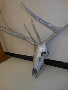 Hand Crafted Originals - Elk Skulpture by Hunter Quarterman