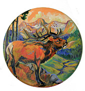 Elk Valley  Print by Jenn Cunningham