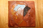 Africa Ceramics Ceramics - Ella - tile by Gloria Ssali