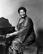 Black Ring Art - Ella Fitzgerald (1917-1996) by Granger