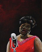 Ella Paintings - Ella Fitzgerald by Kim Selig
