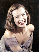 Ella Framed Prints - Ella Raines, Ca 1940s Framed Print by Everett