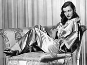Wide Belt Prints - Ella Raines, Universal Pictures Print by Everett