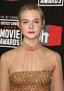 Elle Prints - Elle Fanning At Arrivals For 16th Print by Everett