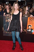 Mann Village And Bruin Theaters Framed Prints - Elle Fanning At Arrivals For The Framed Print by Everett