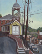 Edward Williams Art - Ellicott City Firehouse by Edward Williams