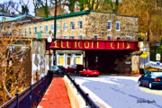 City Streets Digital Art Framed Prints - Ellicott City Framed Print by Stephen Younts