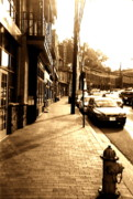 City Buildings Prints - Ellicott City Street Print by Utopia Concepts
