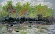 White River Pastels - Ellijay Creek Two by Gretchen Allen