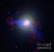 Emitting Posters - Elliptical Galaxy M87 Poster by Nasa