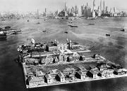 New York Harbor Art - Ellis Island, 1933 by Granger