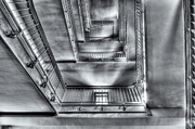 United States National Register Of Historic Places Photos - Ellis Island Stairway II by Clarence Holmes