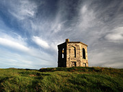 Ruin Photo Prints - Elliston tower Print by Grant Glendinning