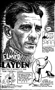 Steve Bishop Prints - Elmer Layden Print by Steve Bishop