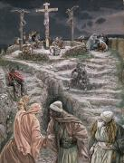 Calvary Paintings - Eloi Eloi Lama Sabacthani by Tissot