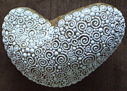 Patricia Cianflone - Elongated Heart Stone