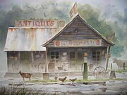 Old Signs Paintings - Els Antiques by Tom  Bond