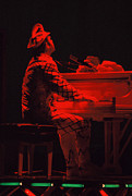 Elton John Photos - Elton in the red by Scott Smith