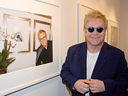Elton John Art - Elton watching Elton by Philip Shone