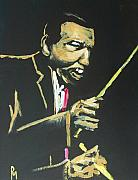 Drums Paintings - Elvin V by Pete Maier