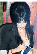 Peterson Photos - Elvira - Mistress of the Dark by Paul Ward