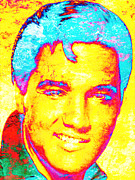 Rock Art Digital Art - Elvis 2 by Juan Jose Espinoza