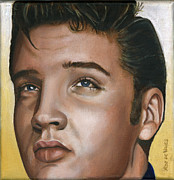 Singer Paintings - Elvis 24 1954 by Rob De Vries