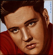 Rock N Roll Paintings - Elvis 24 1959 by Rob De Vries