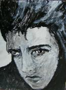 Elvis Portrait Paintings - Elvis by Judith Redman