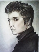 Elvis Presley Art - Elvis by Morgan Greganti