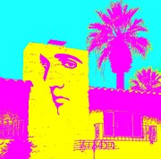 Movie Stars Photos - Elvis Palm Springs 2 by Randall Weidner