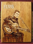 Bob Renaud - Elvis playing guitar