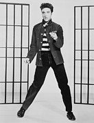 Music Metal Prints - Elvis Presley 1935-1977, Publicity Metal Print by Everett